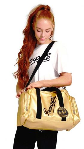 PINEAPPLE DANCEWEAR Retro Dancers Bag Holdall Ballet Gym Dance Gymastics Gold
